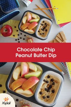 This Chocolate Chip Peanut Butter Dip is our homework snack break ...
