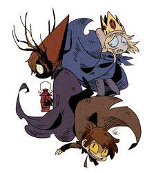 Disney & Cartoon In Anime - Special: Bad End Friends Cartoon Shows, Cartoon Art, Desenhos Cartoon Network, Arte Do Kawaii, Gravity Falls Art, Bad Friends, Over The Garden Wall, Fandom Crossover, Dibujos Cute