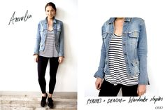 HQ Style: How to Mix Denim with Lorna Jane