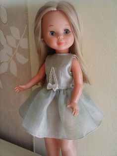 """""""Nancy"""" Nancy Doll, Spanish Girls, Barbie, Cute Dolls, My Children, Couture, Doll Clothes, To My Daughter, Flower Girl Dresses"""