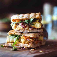 Cauliflower Steak Sandwiches