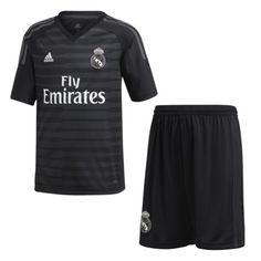 Conjunto de portero niños 1ª equipación Real Madrid CF 2018-2019 adidas  MORE AND MORE 657b1b24e5fab