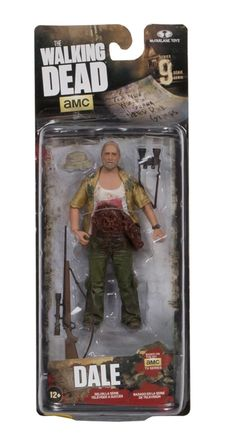 The Walking Dead TV Series 9 Action Figure: Dale Horvath