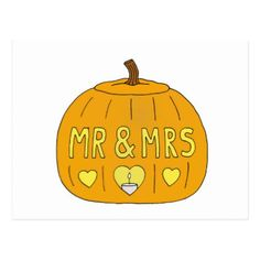 October 31st Halloween Wedding Anniversary Postcard - anniversary gifts ideas diy celebration cyo unique