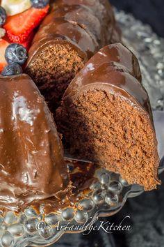 Chocolate Ganache Valentine Cake | Art and the Kitchen -decadent chocolate cake with a creamy chocolate ganache. A chocolate lover's ultimate cake!