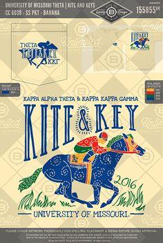 #BUonYou #greeklife #fraternity #sorority #greeklife #customgreekapparel #tshirts #tanks #summer #spring #greekwear #kite #key #philanthropy #horse #derby