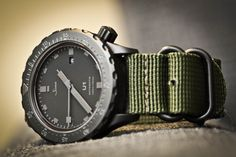 """Sinn """"U1"""" with NATO strap"""