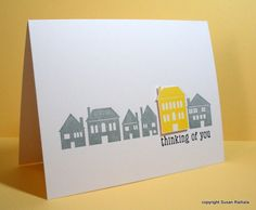 Thinking of You at Home by LateBlossom - Cards and Paper Crafts at Splitcoaststampers
