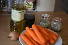 Mrkvový perkelt - brydova.cz Carrots, Detox, Vegetables, Fit, Shape, Carrot, Vegetable Recipes, Veggies
