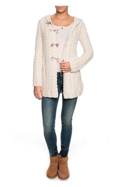 Kofta Canal Long Cardigan LIGHT PORCELAIN - Odd Molly - Designers - Raglady