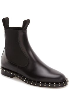 Valentino Rockstud Chelsea Boot (Women) available at #Nordstrom