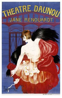 Built in 1921 under the direction of the actress Jane Renouardt, the Theatre Daunou was a classic Art Deco theater specializing in comedies. Vintage Advertisements, Vintage Ads, Vintage Posters, Retro Ads, Belle Epoque, Art Deco Posters, Poster Ads, Historical Art, Paris Shows