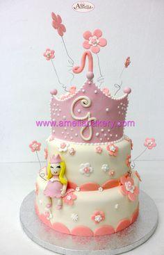 Tarta princesa - Pasteles fondant princesa - Tartas infantiles - Cupcakes, Desserts, Food, Fondant Cakes, Cookies, Custom Cakes, Princess, Tailgate Desserts, Cupcake Cakes