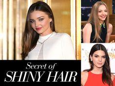 セレブのヘアに「今どきヘアオイル」が欠かせない理由 Miranda Kerr, Elle Mexico, Shiny Hair, Swarovski, Hair Beauty, Ruffle Blouse, Women, Fashion, Templates