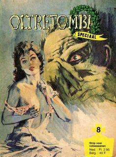 Cover for Oltretomba speciaal (De Vrijbuiter; De Schorpioen, 1973 series) #8