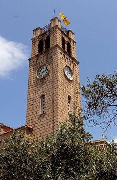 Clock Tower - Aegina Island, Greece / By Tilemahos Efthimiadis, via Flickr