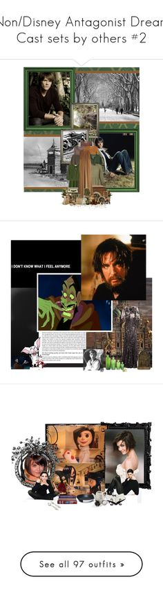 """""""Non/Disney Antagonist Dream Cast sets by others #2"""" by gothic-pheonix ❤ liked on Polyvore featuring jared, Phase Eight, La Garçonne Moderne, Fine Collection, RED Valentino, Jayson Home, Alexander McQueen, Crate and Barrel, CO and Vosges"""