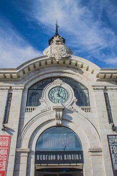 Mercado da Ribeira em Lisboa - Portugal Mais informações no blog!