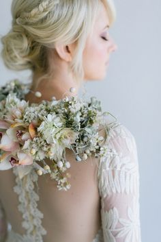 Enchanted Frost Winter Wedding Inspiration by Debbie Lourens & Blank Canvas Event Design - Enchanted Frost Winter Wedding Inspiration Church Wedding Flowers, Bridal Flowers, Wedding Bouquets, Wedding Dresses, Silk Flowers, Wedding Coursage, Winter Wedding Inspiration, Amazing Weddings, Alternative Wedding