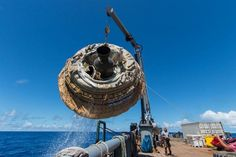 First Nasa's saucer-shaped vehicle successful test