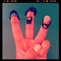 Bee Gees..Fingers art.