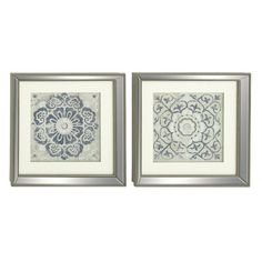 2-Piece Polystone Framed Print Set (Set of 2)