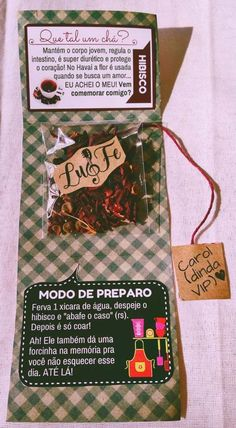 Convite Chá da Kel♡