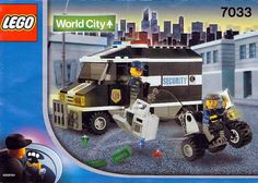 LEGO 7033 Police Armoured Car instructions displayed page by page to help you build this amazing LEGO World City set Police Truck, Lego Boxes, Armored Vehicles, Armored Car, Lego Craft, Lego Worlds, Lego Minecraft, Lego Design, Lego Creator
