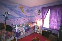 What To Do With The Walls In Her Tinkerbell Bedroom