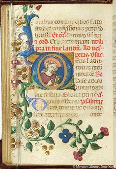 Book of Hours, MS M.1083 fol. 51v - Images from Medieval and Renaissance Manuscripts - The Morgan Library & Museum