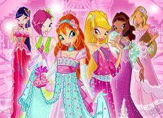 winx club princesses.