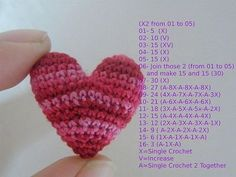alice brans Small heart crochet pattern