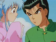 haha Botan makes me laugh! Shes too funny! Yoshihiro Togashi, Rosario Vampire, Cowboy Bebop, Hunter X Hunter, Manga, Anime Shows, Man In Love, Akira, Sailor Moon
