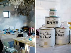 Décor, fashion and interiors with a focus on Cape Town Painted Cupboards, Annie Sloan Chalk Paint, Paint Furniture, Interior Decorating, Decorating Ideas, South Africa, Wall Paintings, Paint Techniques, Cape Town