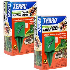 Terro Outdoor Liquid Ant Killer Bait Stakes 2 Pack -- Details can be found by clicking on the image. (This is an affiliate link) Bug Control, Pest Control, Ants In House, Black Ants, Wasp Nest, Spoil Yourself, Garden Guide, Bait