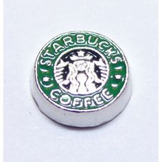 Starbucks Coffee Locket Charm that fits brands including Origami Owl & My Journey Locket. Enamel United States Marine Corpson zinc alloy. Great looking charms that don't cost a fortune.