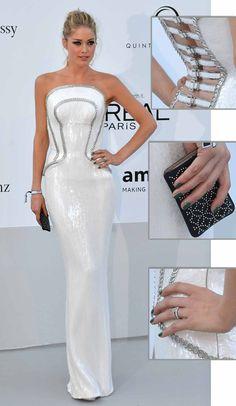 Doutzen Kroes - Versace - Cannes 2012