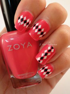 216 Best Pattern Nail Art Images On Pinterest Pretty Nails