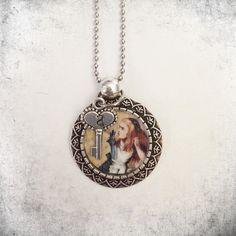 Collana con ciondolo Alice in Wonderland di LeleleleCreations