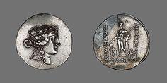 Tetradrachm (Coin) Portraying Alexander the Great Greek Writing, Nemean Lion, Museum Studies, Manchester Art, Athena Goddess, Ancient Art, Ancient Greek, Chicago Art, Byzantine Art