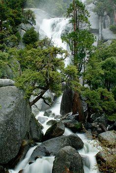 Falls at Cascade Creek, Yosemite National Park, CA