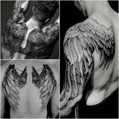 Tattoos Discover Back tattoos to make a man look sexier Design Tattoos Masculinas Baby Tattoos Forearm Tattoos Body Art Tattoos Sleeve Tattoos Tatoos Wing Tattoo Men Wing Tattoos On Back Wing Tattoo Designs Wing Tattoos On Back, Wing Tattoo Men, Neck Tattoo For Guys, Wing Tattoo Designs, Forearm Tattoo Men, Tattoos For Guys, Back Tattoo Men, Design Tattoos, Backpiece Tattoo
