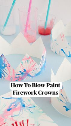 Diy Crafts With Kids, Painting Crafts For Kids, Painting Activities, Art Activities For Kids, Summer Activities, Kid Crafts, Crafts To Do, Creative Crafts, Preschool Crafts