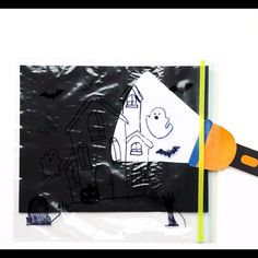 This easy Halloween flashlight craft for kids will totally wow your kids. Add some letters, numbers, or sight words to create a fun fall learning activity. Ocean Activities, Vocabulary Activities, Easy Halloween, Halloween Crafts, Diy For Kids, Crafts For Kids, Fall Inspiration, Number Identification, Halloween Templates