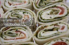Hapjes gevulde wraps; tips en recepten - byMirandaa