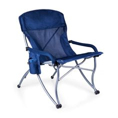 Picnic Time PT-XL Camp Chair #ad Outdoor Chairs, Outdoor Furniture, Outdoor Decor, Unique Furniture, Garden Furniture, Dining Chairs, Folding Camping Chairs, Folding Chairs, Herman Miller Aeron Chair