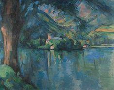Le Lac d Annecy Paul Cezanne repro oil painting Paul Gauguin, Picasso, Arte Van Gogh, Foto Art, French Artists, Famous Artists, Art Reproductions, Art World, Art History