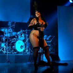 Wildy Valentine Burlesque artist and model from Québec Canada  Fortune Teller for Burlestacular show ''Bête de scène''  https://www.facebook.com/WildyValentine  #burlesque #show #plussizemodel #dark #photography #fortuneteller #stripper #zoltar #liveband