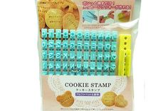 Francobollo giapponese cookie kawaii / alfabeto mark di Copain