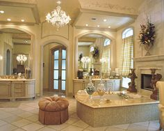 Part of my dream bathroom...except remove some of the golds/coppers so its not overwhelming lol
